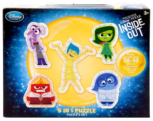Disney Inside Out 5 In 1 Exclusive Puzzle