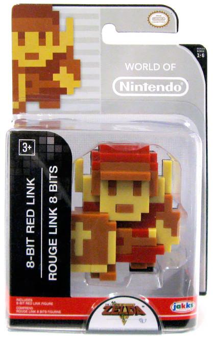World of Nintendo Legend of Zelda 8 Bit Red Rogue Link 2.5-Inch Mini Figure