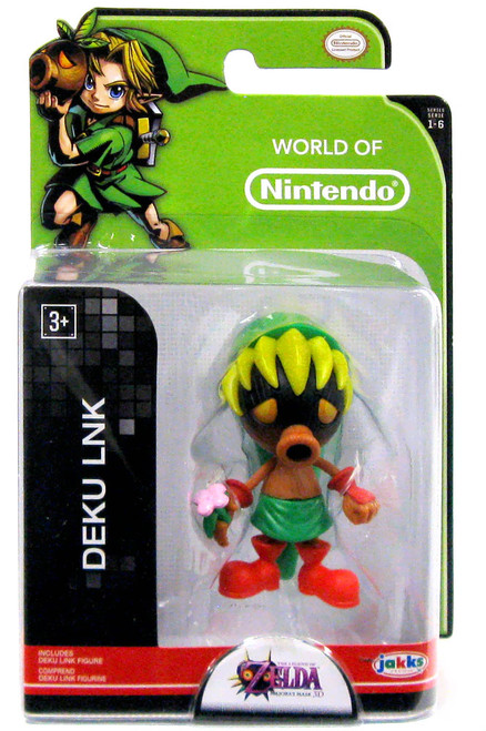 World of Nintendo Zelda Deku Link 2.5-Inch Mini Figure