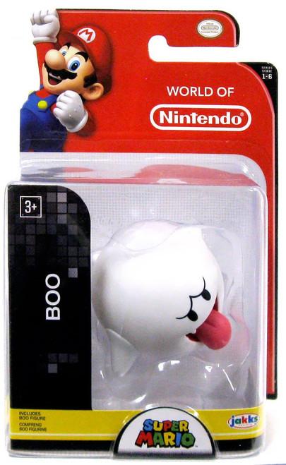 World of Nintendo Super Mario Boo 2.5-Inch Mini Figure