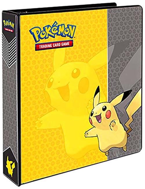Ultra Pro Pokemon Black & White Card Supplies Pikachu D-Ring Binder