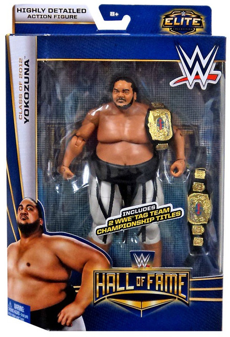 WWE Wrestling Elite Collection Hall of Fame Yokozuna Exclusive Action Figure
