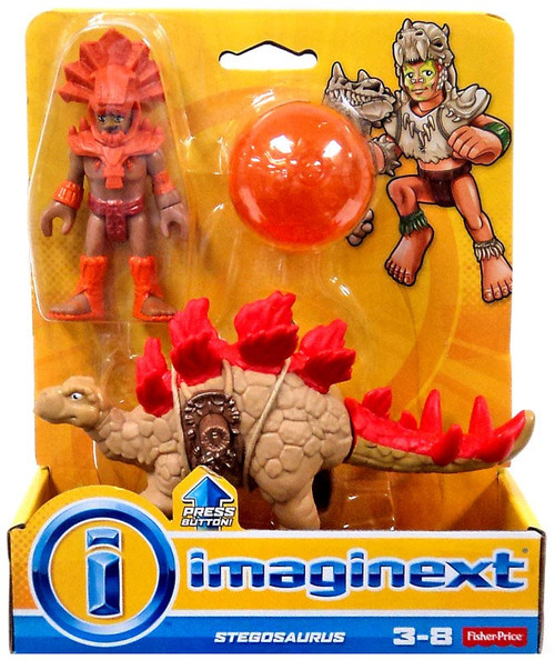 Fisher Price Imaginext Stegosaurus Action Figure