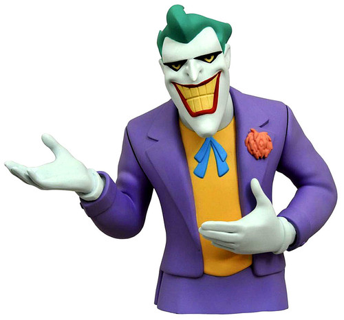 Batman The Animated Series The Joker Vinyl Bust Bank