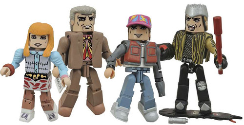 Back to the Future Part II Hill Valley 2-Inch Minifigure Box Set
