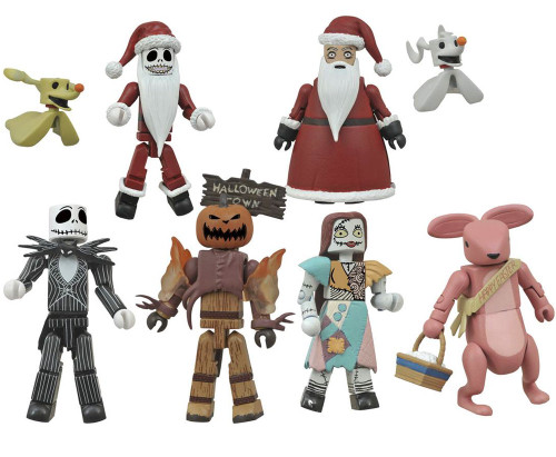 Series 2 The Nightmare Before Christmas 2-Inch Minifigure Counter Display