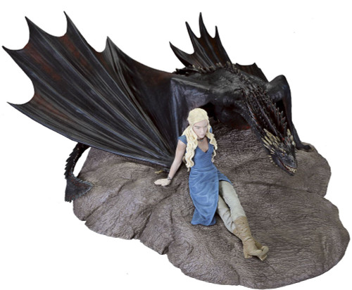 Game of Thrones Daenerys & Drogon Statuette