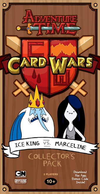 Adventure Time Card Wars Ice King vs Marceline Collector's Pack