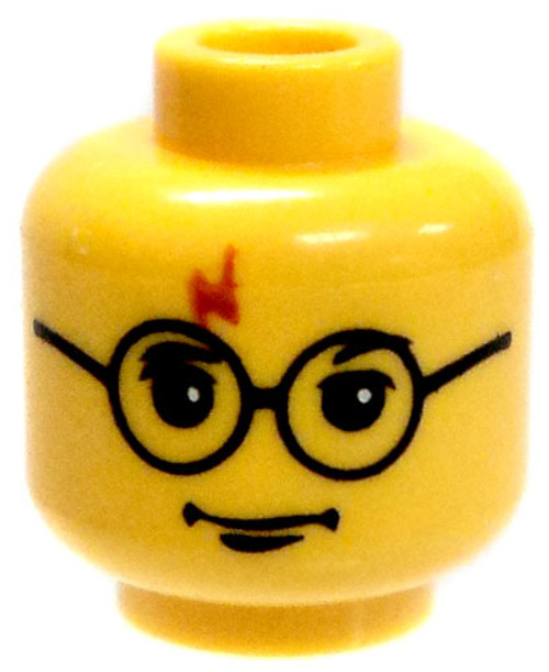 Harry Potter Minifigure Head [Loose]