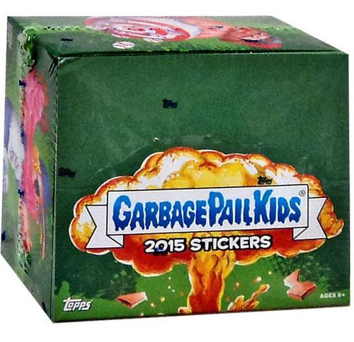 Garbage Pail Kids Topps 2015 Series 1 Trading Card Sticker RETAIL Box [24 Packs]