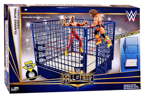 WWE Wrestling Classic Steel Cage Superstar Ring