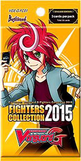 Cardfight Vanguard Trading Card Game Fighters Collection 2015 Booster Pack VGE-G-FC01