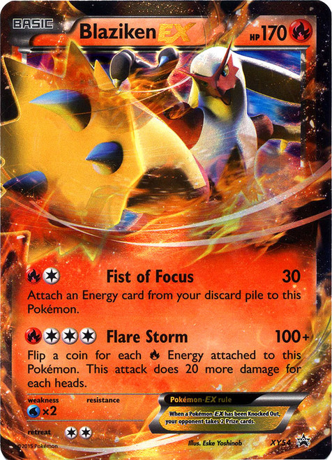 Pokemon X & Y Promo Ultra Rare Blaziken EX XY54