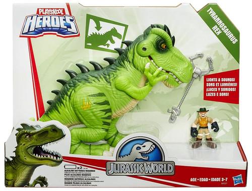 Jurassic World Playskool Heroes Dino Tracker T-Rex Action Figure