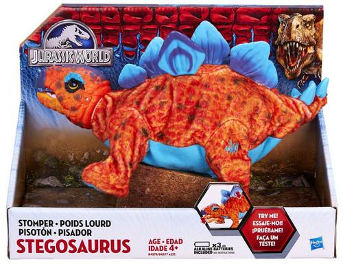 Jurassic World Stomper STEGOSAURUS Deluxe Plush