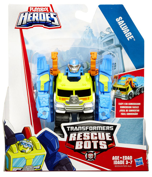 Transformers Playskool Heroes Rescue Bots Salvage Action Figure [Rescan, 2015]