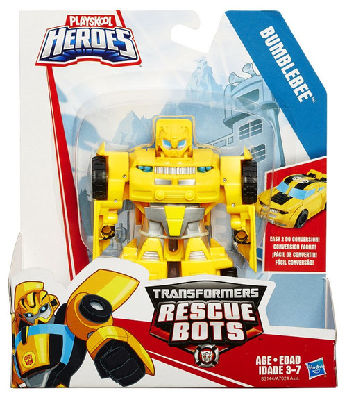 Transformers Playskool Heroes Rescue Bots Classic Bumblebee Action Figure [Rescan, 2015]
