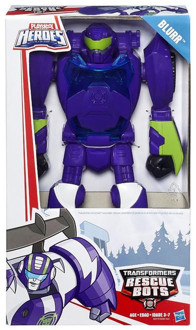 "Transformers Playskool Heroes Rescue Bots Blurr 11"" Action Figure [Epic Series]"