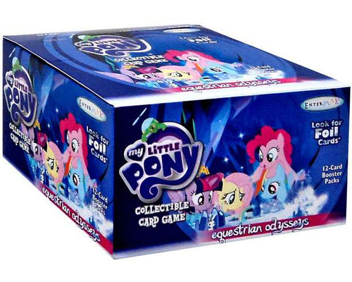 My Little Pony Friendship is Magic Equestrian Odysseys Booster Box [36 Packs]