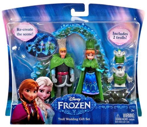 Disney Frozen Troll Wedding 3.75-Inch Gift Set