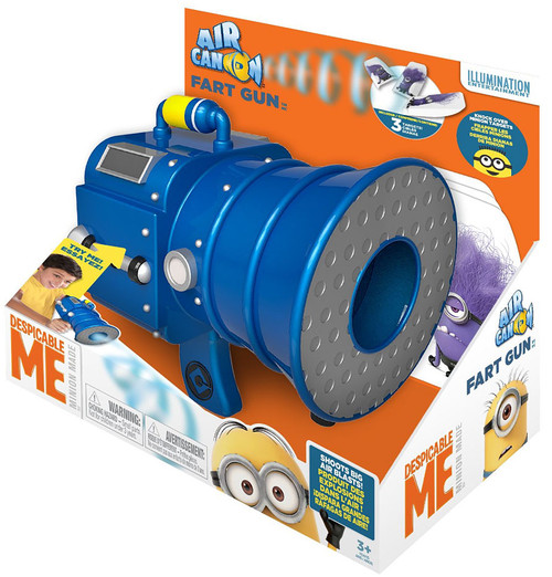 Despicable Me Minions Fart Gun Air Cannon Roleplay Toy