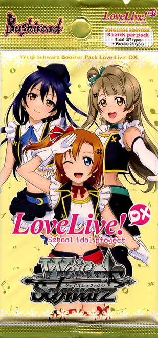 Weiss Schwarz Love Live! DX Booster Pack [8 Cards]