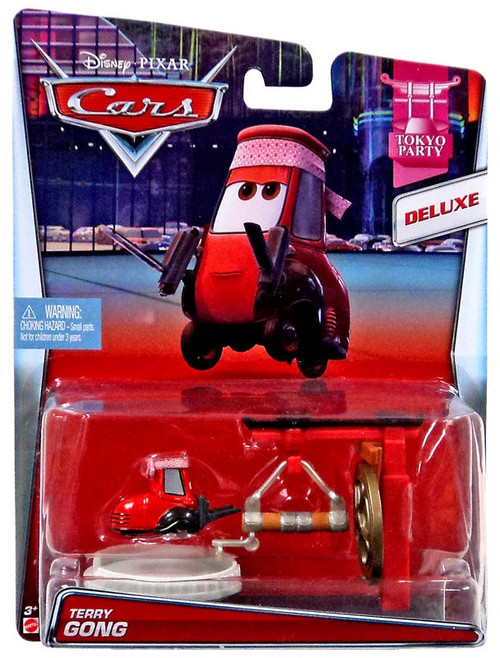 Disney / Pixar Cars Tokyo Party Terry Gong Diecast Car #5/10 [Deluxe]
