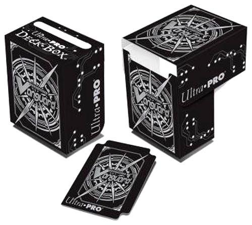 Ultra Pro Cardfight Vanguard Trading Card Game Card Supplies Logo Deck Box [Black & White]