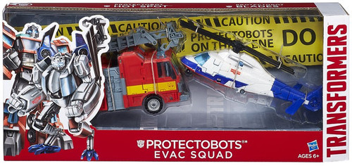 Transformers Protectobots Evac Squad Exclusive Action Figure 2-Pack