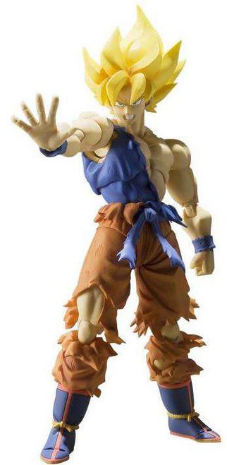 Dragon Ball Z S.H. Figuarts Super Saiyan Son Goku Action Figure [Warrior Awakening]