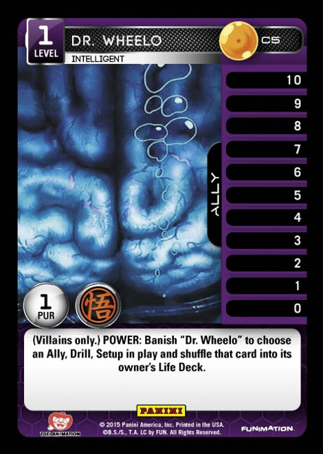 Dragon Ball Z CCG Movie Collection Common Dr. Wheelo - Intelligent C5