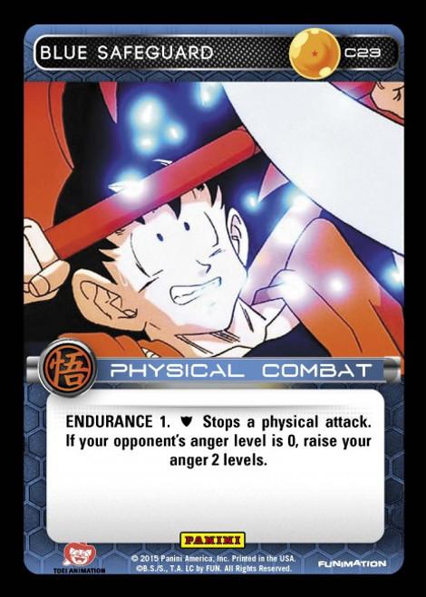 Dragon Ball Z CCG Movie Collection Common Blue Safeguard C23