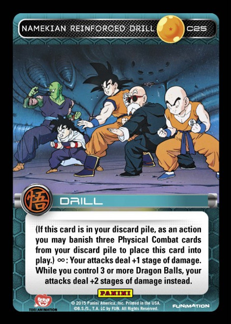 Dragon Ball Z Movie Collection Common Namekian Reinforced Drill C25