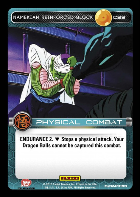 Dragon Ball Z Movie Collection Common Namekian Reinforced Block C29