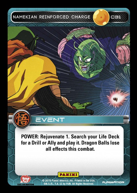 Dragon Ball Z Movie Collection Common Namekian Reinforced Charge C31