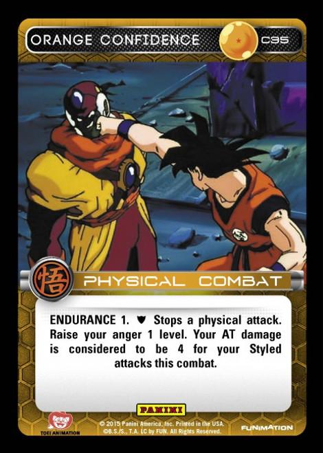 Dragon Ball Z Movie Collection Common Orange Confidence C35