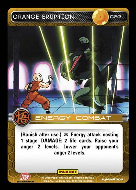 Dragon Ball Z Movie Collection Common Orange Eruption C37