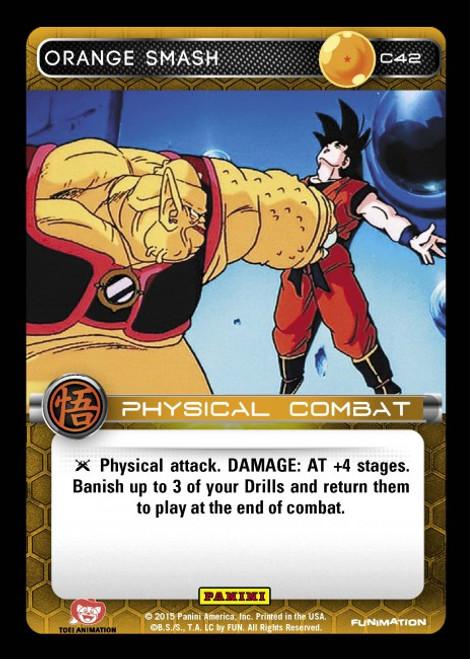 Dragon Ball Z Movie Collection Common Orange Smash C42