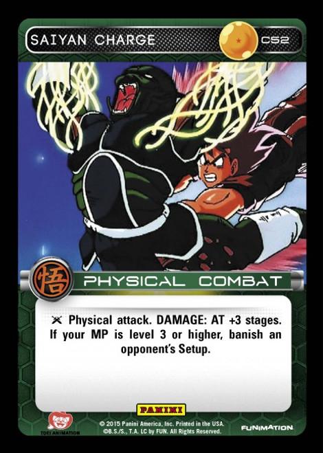 Dragon Ball Z Movie Collection Common Saiyan Charge C52