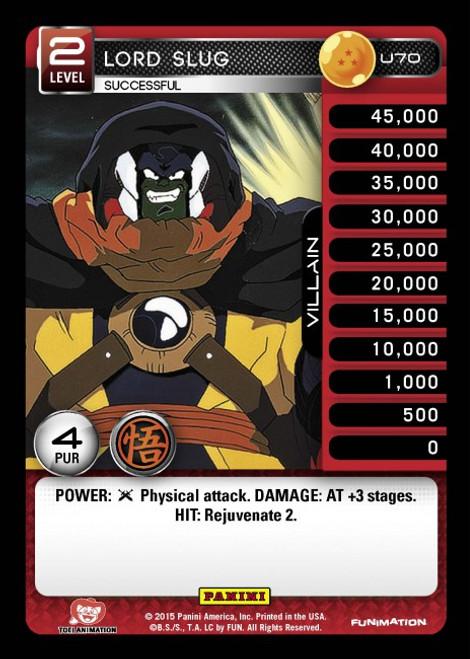 Dragon Ball Z CCG Movie Collection Uncommon Lord Slug - Successful U70