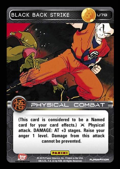 Dragon Ball Z Movie Collection Uncommon Black Back Strike U79