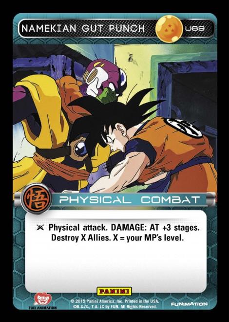 Dragon Ball Z Movie Collection Uncommon Namekian Gut Punch U89
