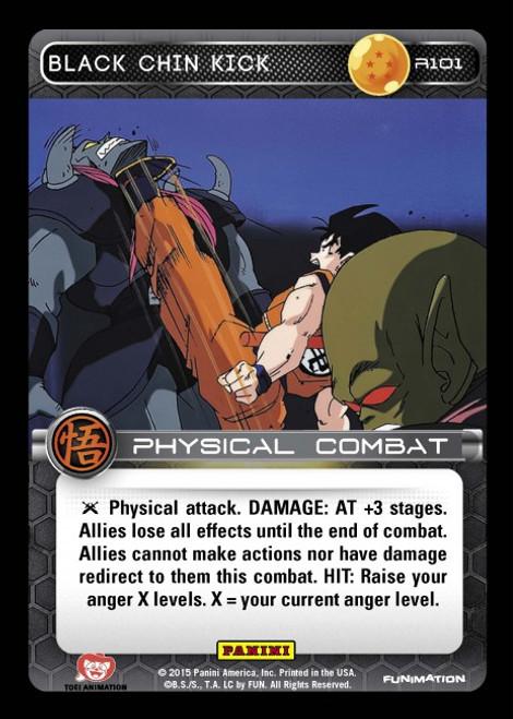 Dragon Ball Z CCG Movie Collection Rare Black Chin Kick R101