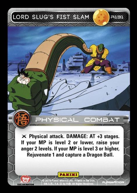 Dragon Ball Z Movie Collection Rare Lord Slug's Fist Slam R131