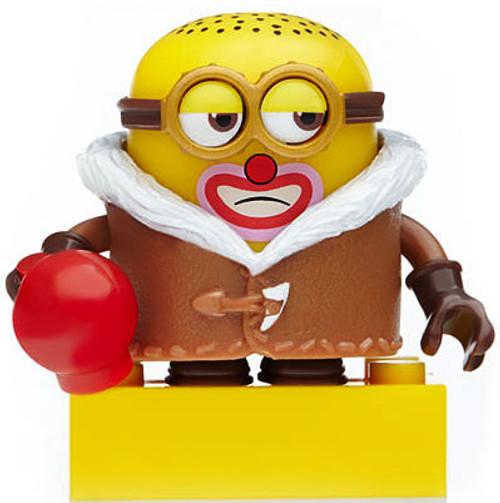 Mega Bloks Mystery Minions Series 3 Clown Jerry 1.5-Inch Minifigure