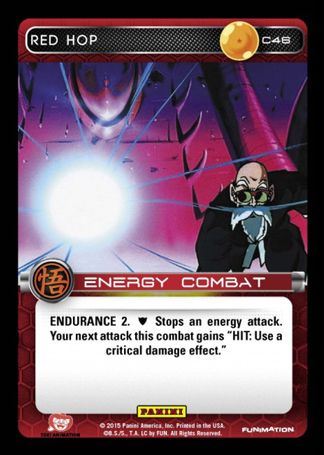 Dragon Ball Z Movie Collection Common Foil Red Hop C46