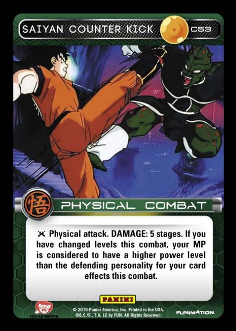 Dragon Ball Z Movie Collection Common Foil Saiyan Counter Kick C53