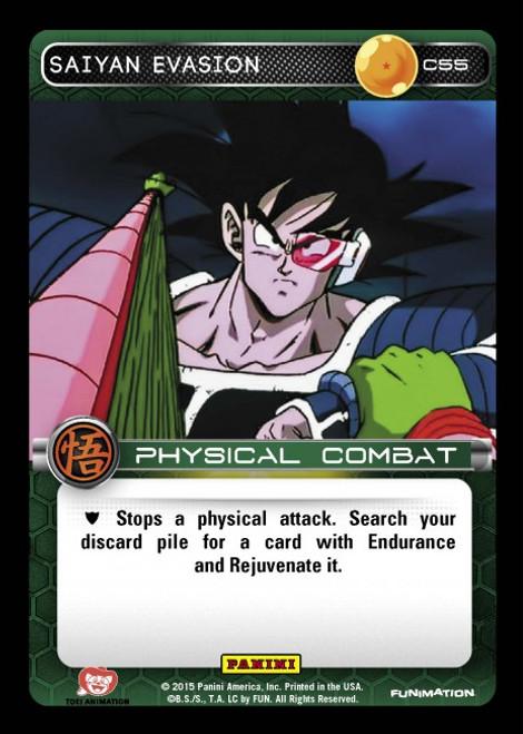 Dragon Ball Z CCG Movie Collection Common Foil Saiyan Evasion C55