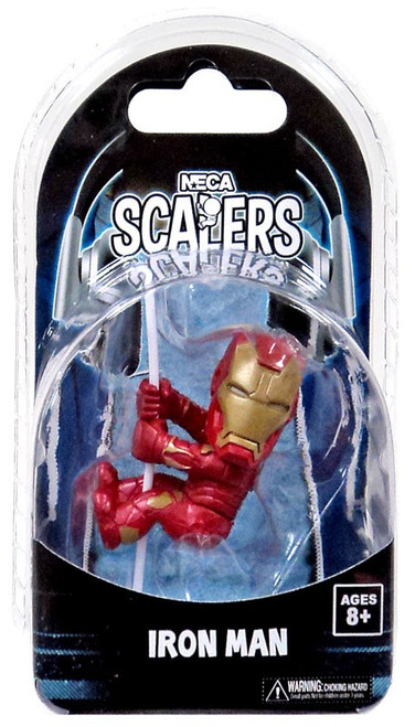 Marvel Avengers Age of Ultron NECA Scalers Iron Man 3.5-Inch Vinyl Figure