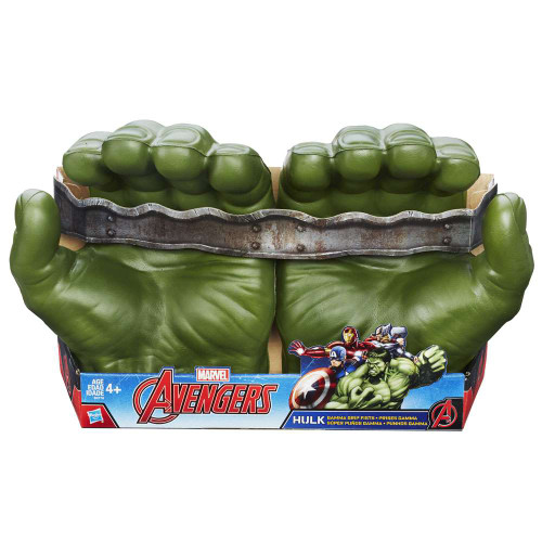 Marvel Avengers Hulk Gamma Grip Fists Roleplay Toy